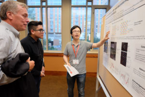 Student Poster Session, one of the highlights of the AMIC Annual Meeting