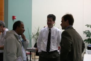 Paul Nealey with Members Raj Nair and Scott Button