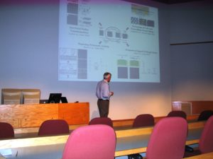 "Professor Nick Abbot, CBE ""The Many Applications of Liquid Crystal Materials"""