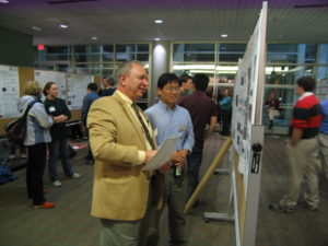 Tom Levesque, NanoINK at the Poster session