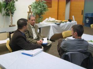 Professor Justin Williams with Sol Rayo Consortium Members